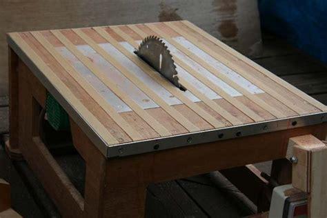 homemade table  plans plans diy   trailer