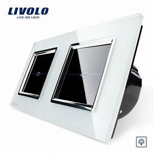 Lichtschalter Touch Glas : dimmer lichtschalter glas touchscreen doppelschalter vl c701d 11 vl c701d 11 ~ Frokenaadalensverden.com Haus und Dekorationen