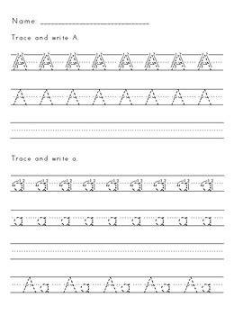 zaner bloser handwriting worksheets by lauren woods tpt