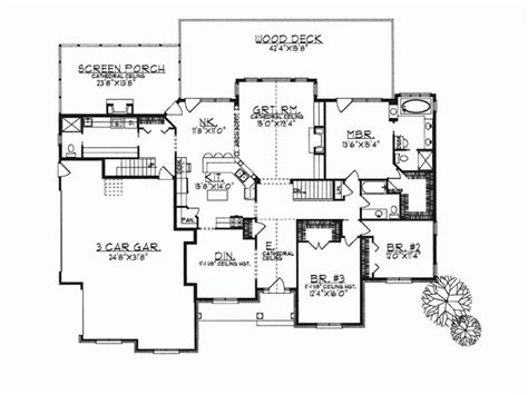 open concept house plans ranch home plans open concept cottage house plans