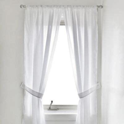 bathroom window curtain buy shower window curtains from bed bath beyond