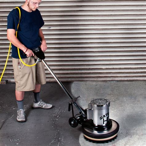Saturn Heavy Duty Floor Machines   Burnishers