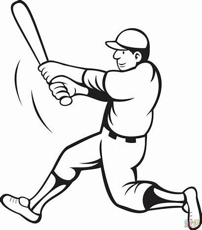 Nfl Player Drawings Coloring Drawing Sheet Baseball