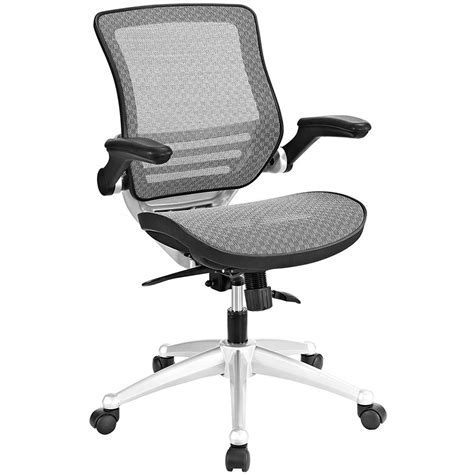 Ede Mesh Gray Modern Office Chair   Eurway Furniture