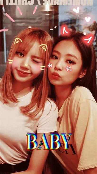Samsung Blackpink Jenlisa Kpop Jennie Lisa Wallpapers