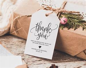 thank you tag wedding thank you tags gift tags wedding With wedding gift thank you