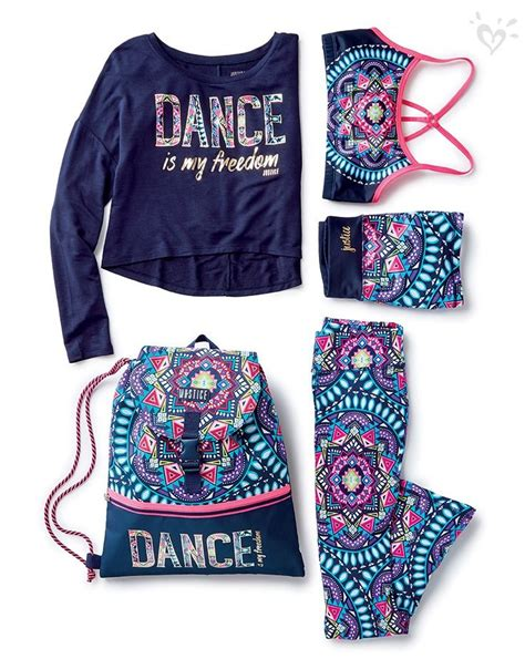 Made-to-match dancewear in bright Justice-exclusive prints. | #JusticeStyle | Pinterest ...