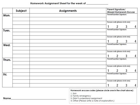 homework diary online free homework sheets descargardropbox