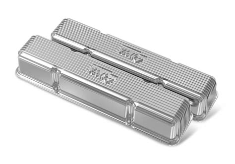 Holley Finned Valve Covers For Small Block