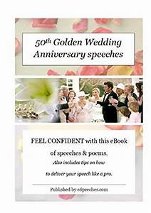 50th golden wedding anniversary speeches kindle edition With 50th wedding anniversary speech