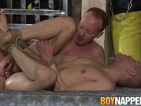 Bondage And Hardcore Anal Fucking With Two Kinky Gay Boys