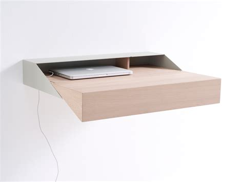 petit bureau moderne bureau moderne en bois et métal deskbox
