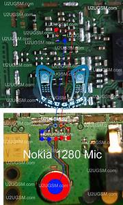 Nokia 1280 Mic Ways Jumpers Problem Solution