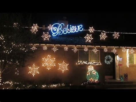 christmas tree lane walk thru youtube