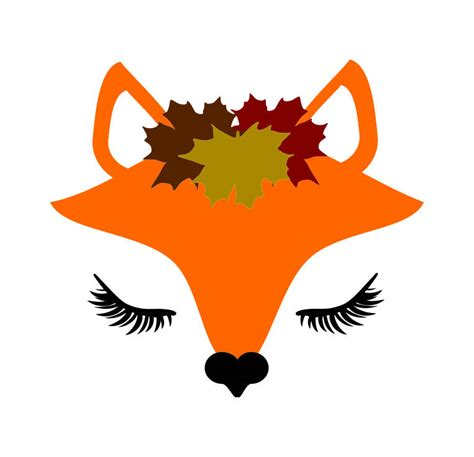 Svg (scalable vector graphics) file is a vector image format file, which is developed in xml (extensible markup language). Fox Face Clipart | Free download on ClipArtMag