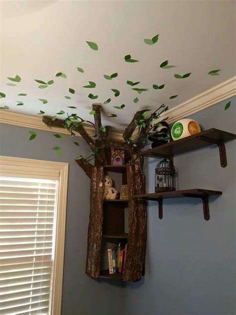 beautiful tree bookshelf perfect  nursery tree
