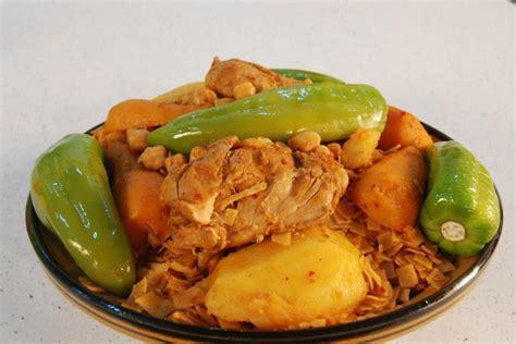 cuisine tunisienne recette nwasser au poulet cuisine tunisienne