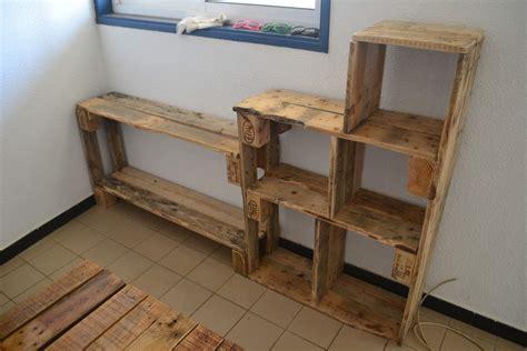 meuble fabrique avec des palettes fabriquer ses meubles en palettes c 233 cile et en guyane