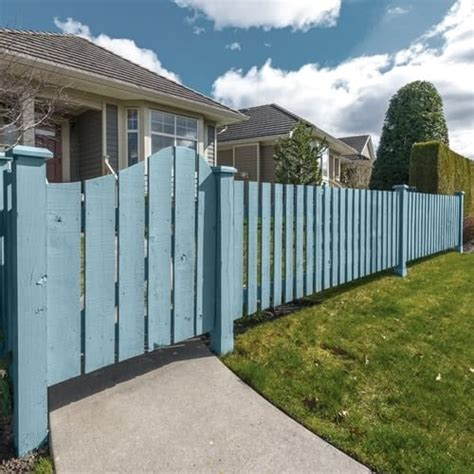 wood stain color for gates