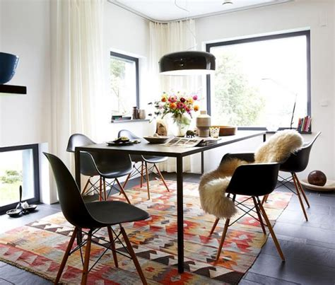 teppich für esszimmer ein teppich macht den essplatz wohnlich bild 9 sch 214 ner wohnen
