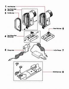 Dyson Dc34 Handheld Vacuum Cleaner Parts
