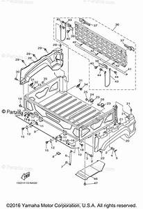 Yamaha Side By Side 2014 Oem Parts Diagram For Carrier