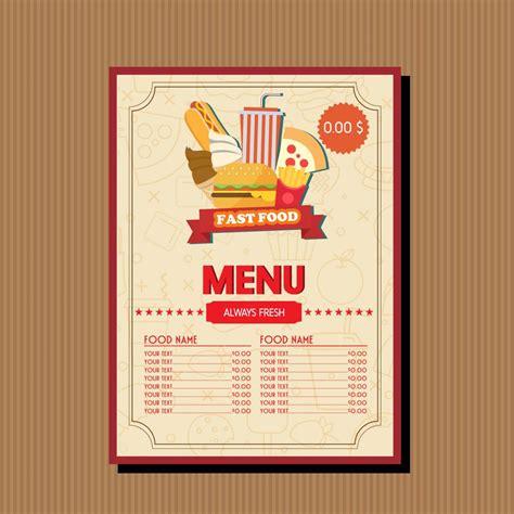 food template 20 free menu templates psd for restaurant food menu templates