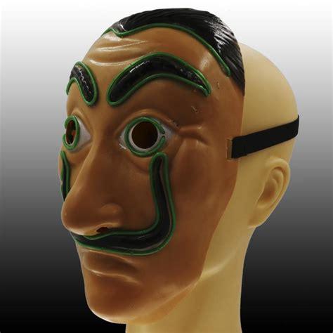 Świecąca maska Salvador Dali