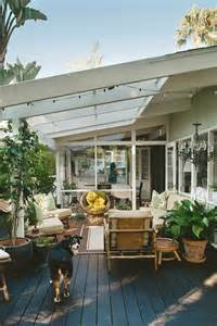 35 Inspiring Outdoor Spaces Porches Decks Patios by Pinch Proof 6 Green Rooms That Will Inspire Modern