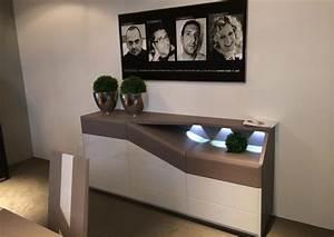 Meuble Tv Bois Massif Moderne : acheter votre meuble tv contemporain avec led chene laque bois chez simeuble ~ Teatrodelosmanantiales.com Idées de Décoration