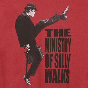 Image result for pics of ministry of silly walks