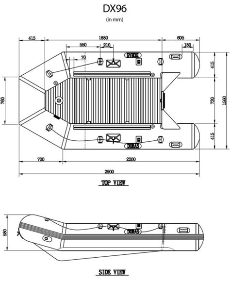 Parts Of An Inflatable Boat by Duras 8 6 Inflatable Boats Dx86 Reliable Source Of