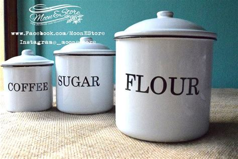 Canisters Flour Sugar by Flour Sugar Coffee Canisters The Coffee Table