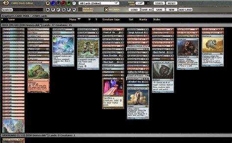 edh decks by tier grenzo dungeon warden multiplayer commander decklists