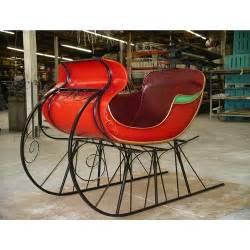 image gallery outdoor christmas sleigh