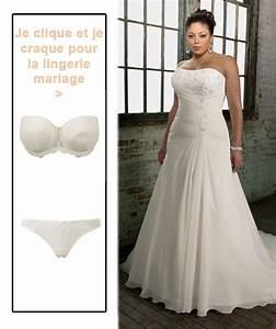 associer lingerie mariage et formes pulpeuses avec sa robe With robe lili et lala