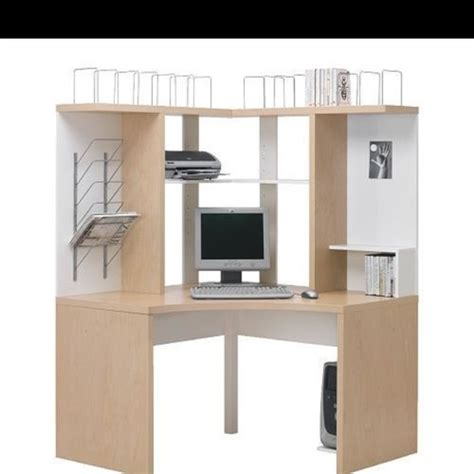 Ikea Computer Desk Uk by Ikea Corner Computer Desk Table Wanted Items Wirral