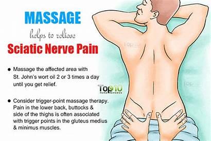 Sciatic Pain Nerve Sciatica Massage Remedies Relief