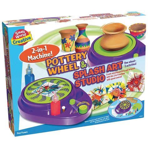 Pottery Wheel & Splash Art Studio 2in1 Machine