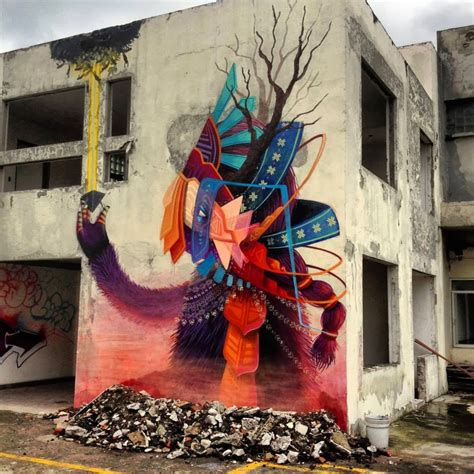 mexican mural artists curiot new mural for proyecto fr 225 gil in mexico