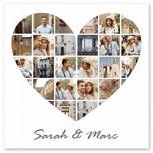 Fotocollage Online Bestellen : fotocollage als herz fotocollage ~ Watch28wear.com Haus und Dekorationen