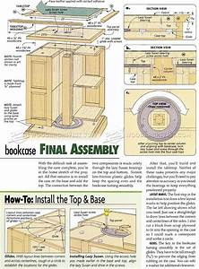 Revolving Bookcase Plans • WoodArchivist