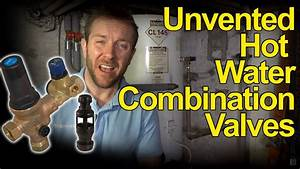 Unvented Hot Water Tank Combination Valves