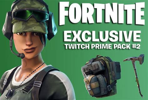 fortnite twitch prime  chance  claim   skin