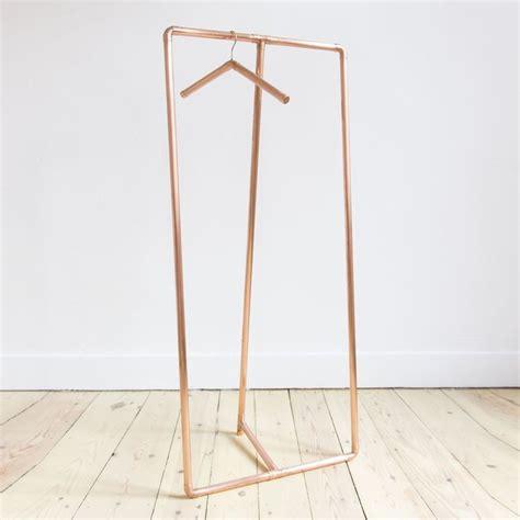 comment fabriquer deco comment faire un portant porte vetements deco cuivre auguste et claire cuivre meubles