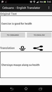 Cebuano - English Translator - Android Apps on Google Play