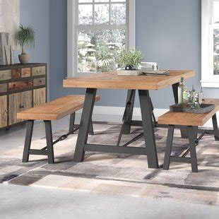 wayfair kitchen table with bench absolutely smart kitchen table and bench set 6