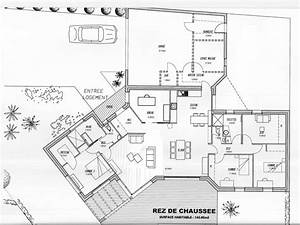 Plan Maison U : plan maison plain pied y ~ Melissatoandfro.com Idées de Décoration