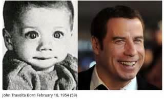 Famous Celebrities as Babies