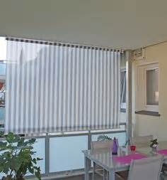 elfennest With markise balkon mit tapete türkis braun gestreift